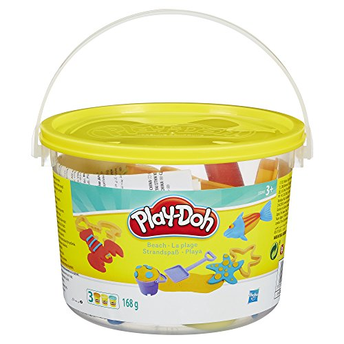 Play-Doh Mini Fun with Beach Creation Bucket