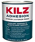 KILZ Adhesion High-Bonding Interior/Exterior Latex...