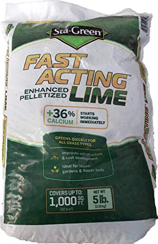 Sta-Green Fast-Acting Lime 5-lb Organic Lime Ph Balancer