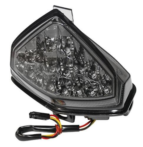 Chromé Refl. LED lumière rueck getoent, Honda CB 1000 R