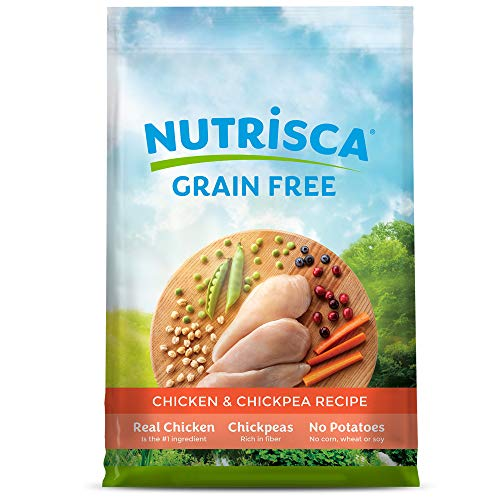 Dogswell NUTRISCA Grain Free Dry Dog Food, Chicken...