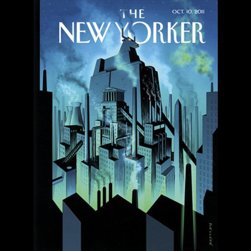 The New Yorker, October 10th 2011 (Calvin Trillin, Jane Mayer, Miranda July) cover art
