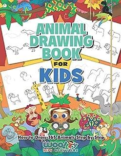 cartoon animals to draw for kids