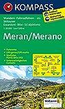 Meran / Merano 1 : 25 000: Wandelkaart 1:25 000 (KOMPASS-Wanderkarten, Band 53)