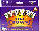 Five Crowns is a five-suited rummy-style card game Easy to learn Fun cards game for kids and adults Ages from 8 to adult. 2-7 Players Quick favorite for both avid and casual card players. Includes solitaire version Five Crowns is loved by everyone, e...