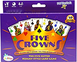 Older kids love the Five Crowns card game as best board games.