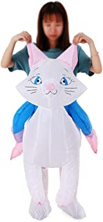 Cat Inflatable Costume Props Blow Up Inflatable Fancy Dress for Halloween Cosplay Party Stage Performance for Kids Childre...