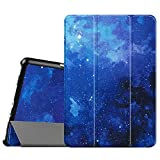 FINTIE SlimShell Funda para Samsung Galaxy Tab A 9.7' - Súper Delgada y Ligera Carcasa con Función de Soporte y Auto-Reposo/Activación para Modelo SM-T550N/T555N, Cielo Estrellado