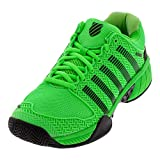 K-Swiss Hypercourt Express Mens Tennis Shoe - Neon Lime/Black - Size 8