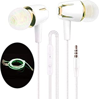 in-Ear Earbuds, Earphones Headphones with Microphone, Stereo/Noise Cancelling/Waterproof Sports Earbuds with Volume Control 3.5mm in-EarツEarphones