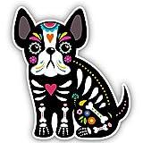 French Bulldog Mexican Sugar Skull Dog - 3