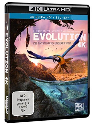 Evolution 4K - Die Entstehung unserer Welt (4K Ultra HD) (+ Blu-ray)