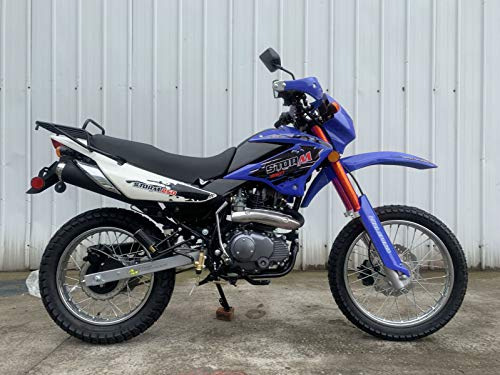 Roketa Dirt Bike-08-250(LHJ) (Blue)