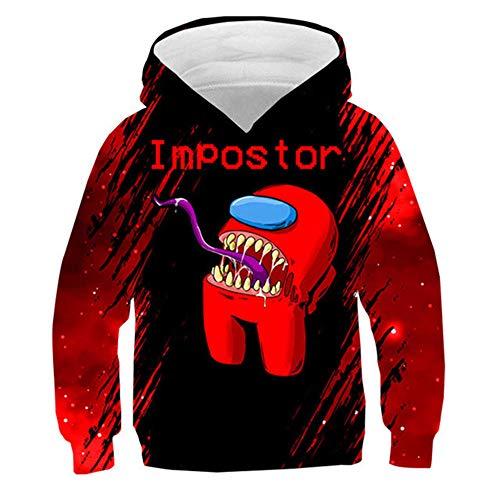 Tsingsa Among us Hoodies Jungen 3D Kinder Kleidung Neues Spiel Lustige Hoodies Teen Mädchen Jungen Sweatshirt Kinder Mode Kleidung