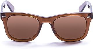 Ocean Sunglasses Lowers Dark Brown-Gafas de Sol, Lentes Color Transparente y marrón