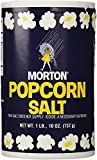1Lb 10oz Morton Popcorn Salt For Green Salad, Corn on the Cob, French Fries, Nuts - PACK OF 3