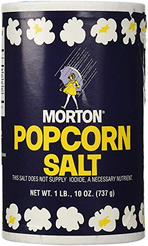 Best Price! 1Lb 10oz Morton Popcorn Salt For Green Salad, Corn on the Cob, French Fries, Nuts - PACK...