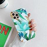 LIUYAWEI Estuche de Flores Bonitas de Moda para iPhone 12 Pro MAX...