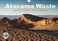 Atacama Wueste - Landschaften der Extreme (Wandkalender 2022 DIN A4 quer): Die Atacama Wueste verfuehrt mit Vulkanen, Geysiren, Lagunen... (Geburtstagskalender, 14 Seiten )