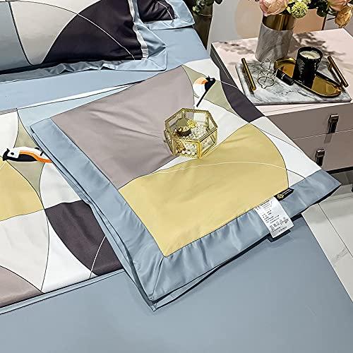 Meet Beauty Juego De Ropa De Cama De SatéN,Silk Cool Summer Blankets, For Bed Fluffy Blanket Throw For Bedroom, Couch, Kids, Bedroom Accessories-7_150X200Cm (59'X 78') Una Colcha
