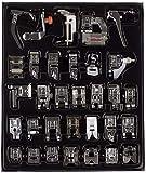 Auped 32 Piezas Multifuncional Prensatelas Accesorios para Máquina de Coser Presser Foot Feet Kit...