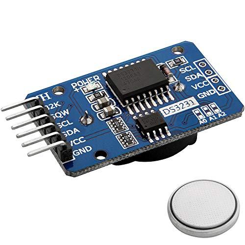 AZDelivery ⭐⭐⭐⭐⭐ Real Time Clock RTC DS3231 I2C Echtzeituhr für Arduino inklusive eBook