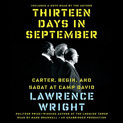 Thirteen Days in September audiobook cover art