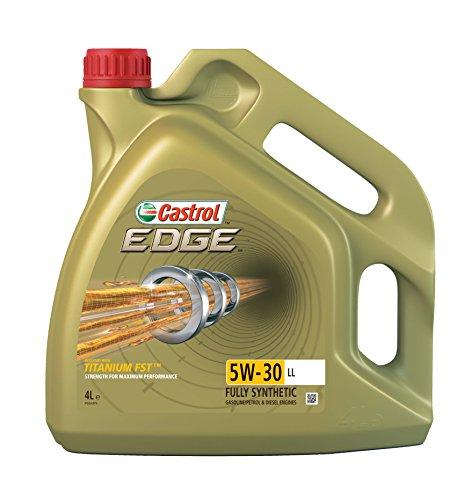 Castrol 15668A EDGE Titanium Aceite para Motor FST 5W-30 LL, 4L