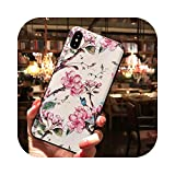 Phone Case Coque pour Galaxy Note 10,Coque TPU Fleur Relief 3D pour Samsung Galaxy Note 10 20 9 8...
