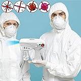Pulverizador Nano Mist Mini Máquina de pulverización Máquina Máquina Máquina Máquina Máquina de niebla, Máquina de desinfección electrostática recargable Adecuada para la humidificación de desinfecció