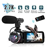 Best Blogging Cameras - Video Camera Camcorder Digital YouTube Vlogging Camera,Nycetek Camera Review