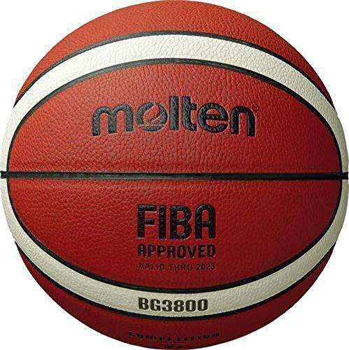 Molten B5G3800 - Balón de Baloncesto, Color Naranja