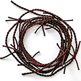 Skeleteen Barb Wire Garland Decorations - Rusty Barbed Wire Country Rodeo Western Themed Indoor and Outdoor Home Party Décor