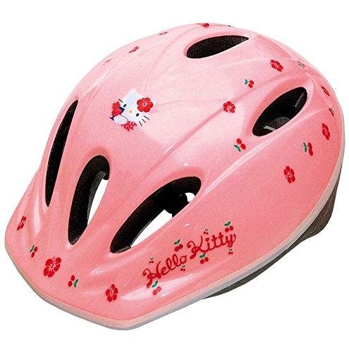 Hello Kitty Casque de vélo pour enfant réglable de 50 à 56 cm