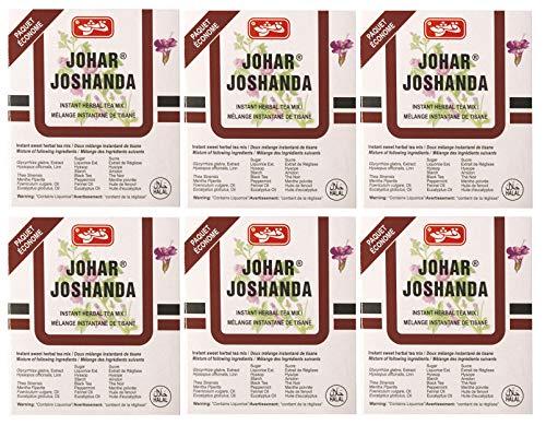 Johar Joshanda Instant Herbal Tea Mix,(6 X 6 Sachets Pack) - Total 36 Sachets