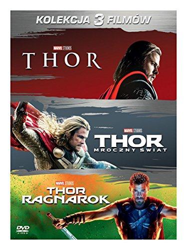 Thor Trilogy: Thor / Thor: The Dark World / Thor: Ragnarok [3DVD] (IMPORT) (Keine deutsche Version)