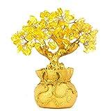 Decoración de Feng Shui, de BWinka, árbol del dinero para oficina, mesa de comedor, para la riqueza y buena suerte, color verde