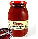 Salsa Estratto Concentrato di Peperoni Dolci 1kg Ottimo per fare Salumi e Sughi
