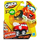 Hasbro Tonka Chuck & Friends - Boomer The Fire Truck - Die Cast Metal Truck