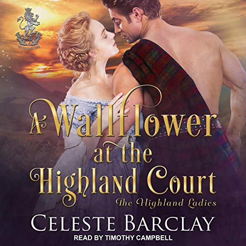 Couverture de A Wallflower at the Highland Court