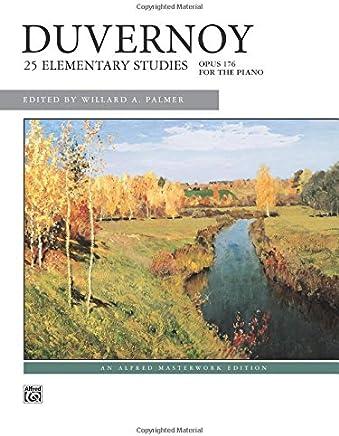 Duvernoy 25 Elementary Studies, Op. 176