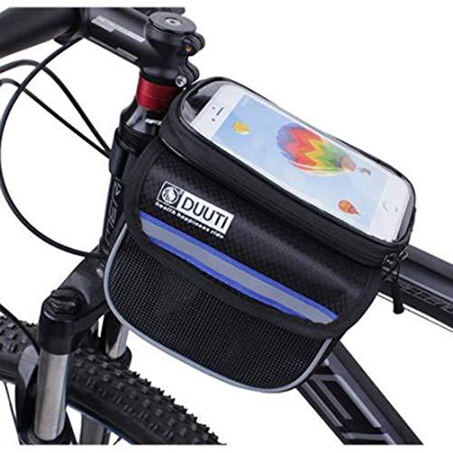 Het meeste Temperament fietsen waterdicht bovenmateriaal slang-zakje mobiele telefoon zak mountainbike-zadeltas in. Cirkelloop. Uitbreiding voor de fiets plaats de make-upportemonnee.
