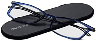 ThinOptics Frontpage Brooklyn Reading Glasses + Milano Aluminum Case