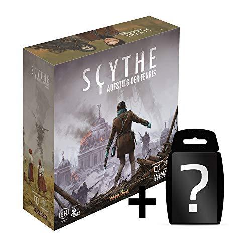 Scythe - Aufstieg der Fenris - Erweiterung Brettspiel | DEUTSCH | Set inkl. Kartenspiel