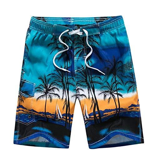 Midi para Hombre Impresión Shorts Surf 3D Playa Verano De Ropa Festiva...