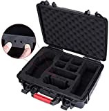 Smatree Estuche de Transporte Resistente al Agua Compatible with dji Mavic 2 Pro/dji Mavic 2 Zoom Fly More Combo (Drone and Accessories Not Provided)