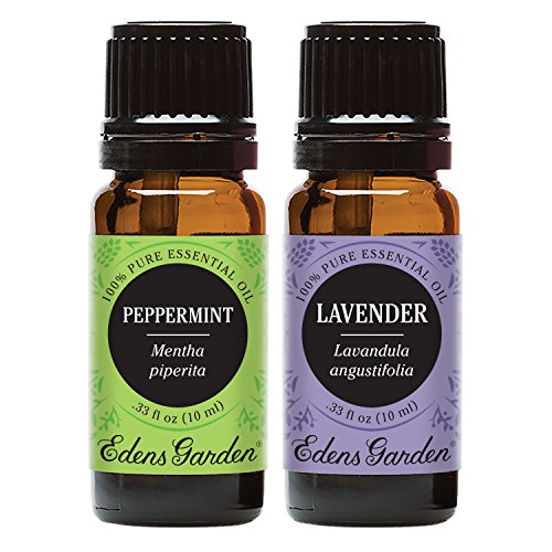 Edens Garden Lavender & Peppermint Essential Oil, 100% Pure Therapeutic Grade (Aromatherapy Oils), 10 ml Value Pack