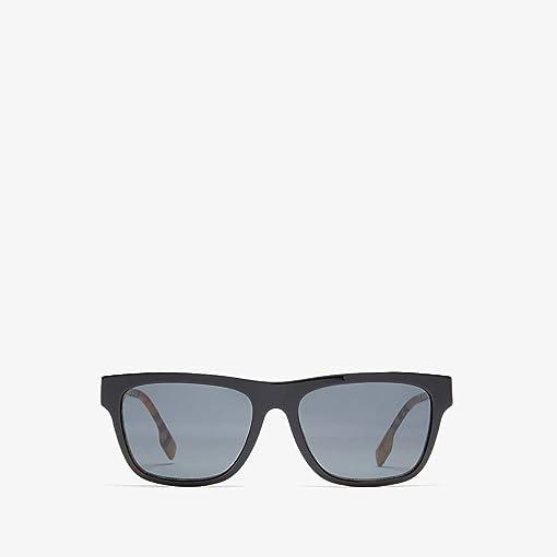 Top Black/Vintage Check/Grey Gradient