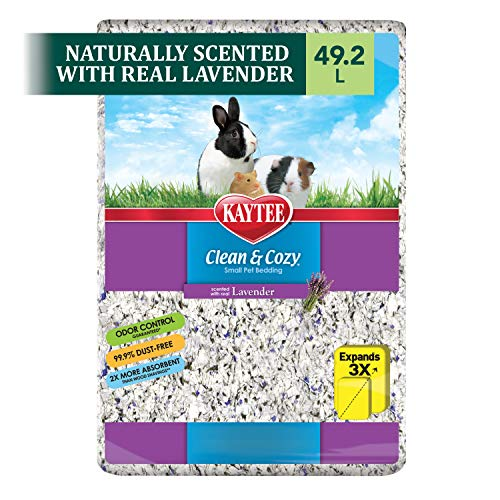 Kaytee Clean & Cozy Bedding, Lavender, 49.2 Liters (Pack of 1)