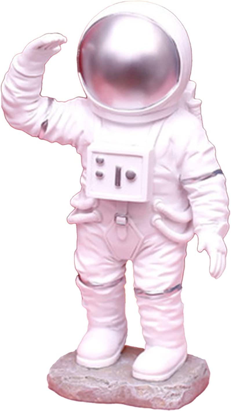 Resin Astronaut Limited Max 78% OFF time trial price Figurine Toy Topper Spaceman Cake Desk